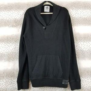Express   Men's Black Shaw Collar Sweater